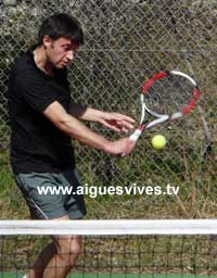 Arnaud Dumas - Tennis Club Aigues-Vives (Gard)