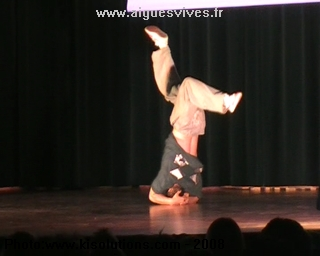 Anthony - Danse Hip Hop à Aigues-Vives - 2008
